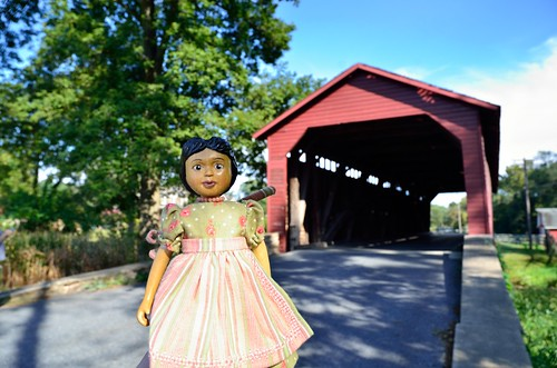 Hitty Rachel at Utica Mills Covered Bridge