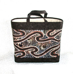 Reverse Applique Bag Back