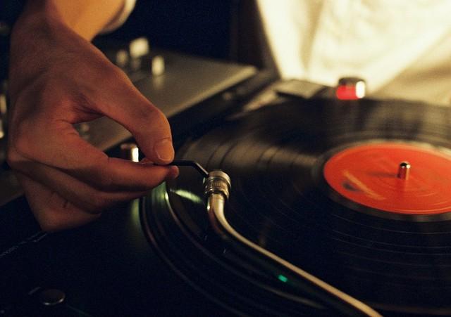 DJ's finger