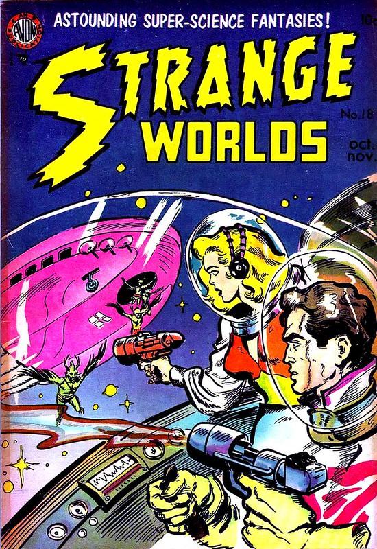 avon comics strange worlds 18