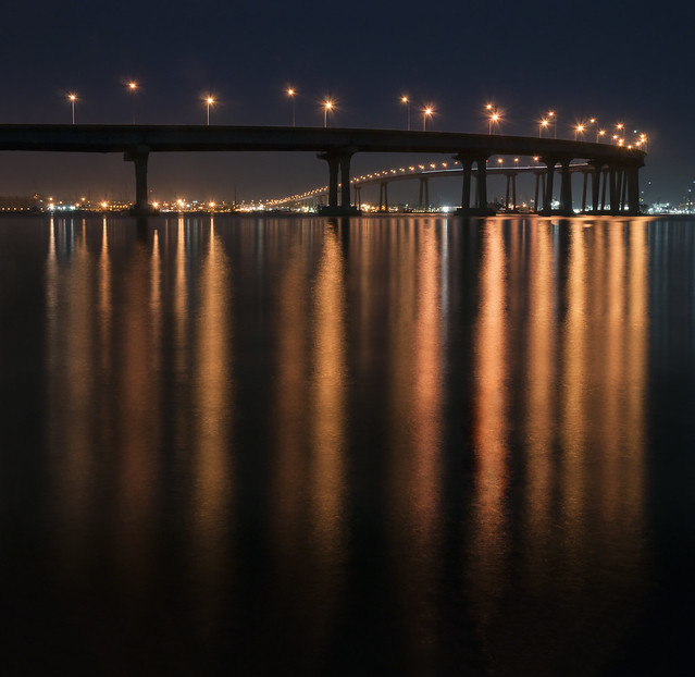 san diego: coronado bridge