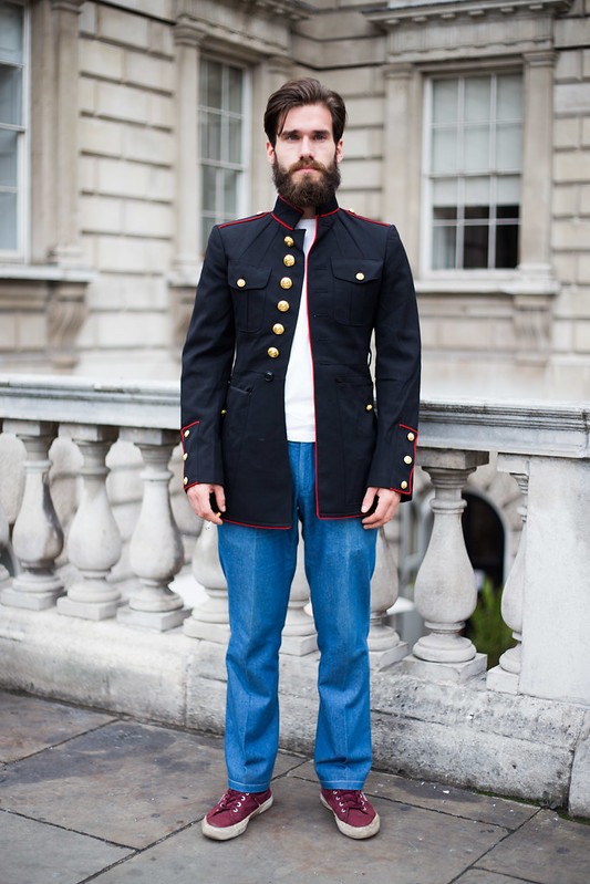 Street Style - Lewis, Somerset House