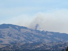 Fire On Mt. Diablo