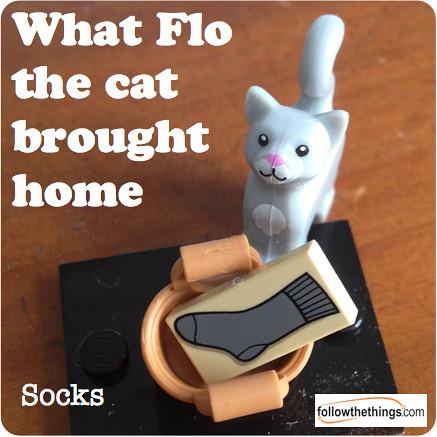 Flo the Cat: socks