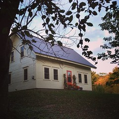 A fresh look for our 154-year old (more or less) farmhouse, built by Alex's great-great grandfather. #maine