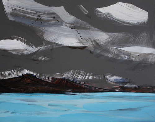 Iceland paintings: Blue lagoon