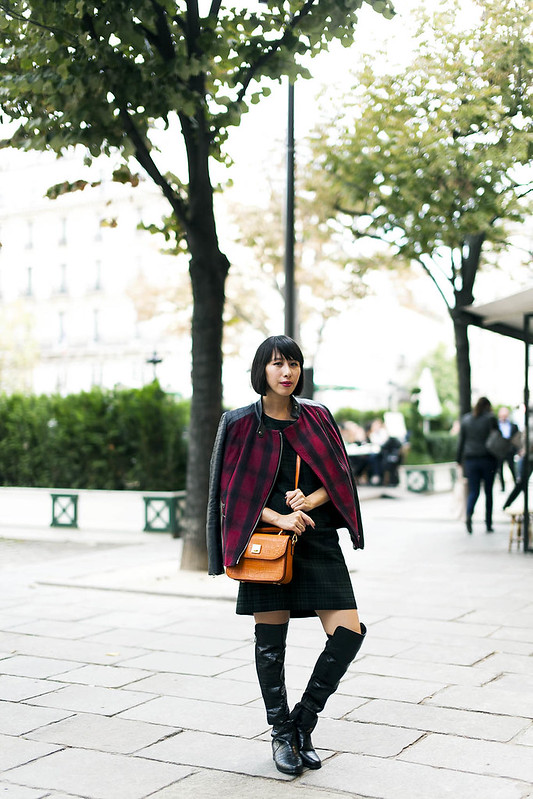 Kit Lee in Paris x First Lady x MCM