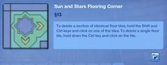 Sun and Stars Flooring Corner