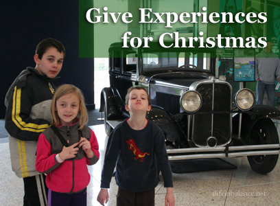 Frugal Gift Giving: Give Experiences as Gifts