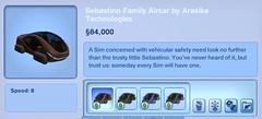 Sebastino Family Aircar by Arasika Technologis