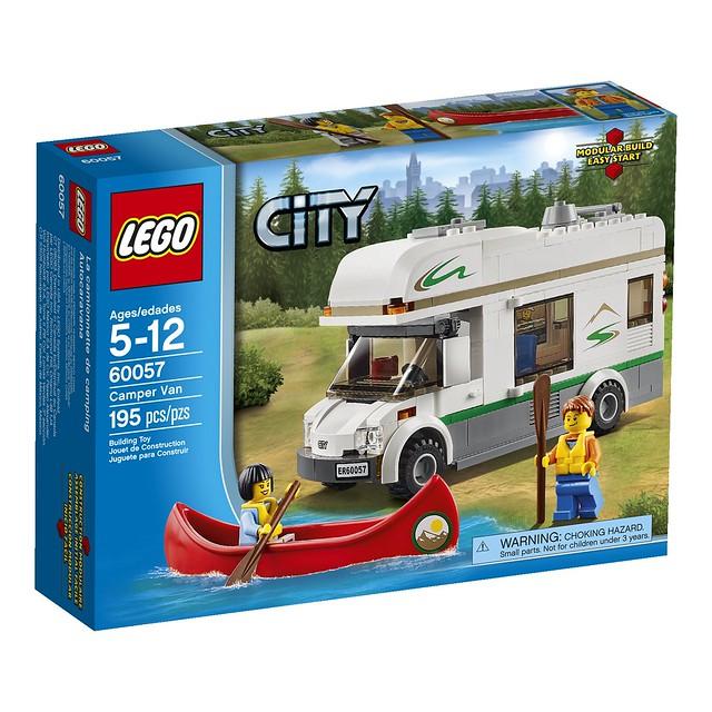 LEGO City 60057 - Camper Van