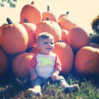 ❤ Him. #griffinjustin #mybaby #latergram #itsfallyall #fall #pumpkins #5