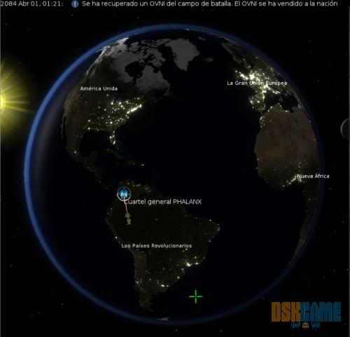 UFO: Alien Invasion centro de operaciones