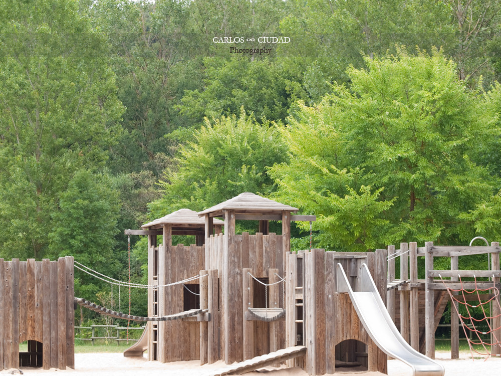 Wooden Castle Playground In The Middle Of The Forest Flickr