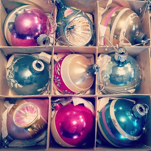 Vintage Ornaments by Gigi Thibodeau