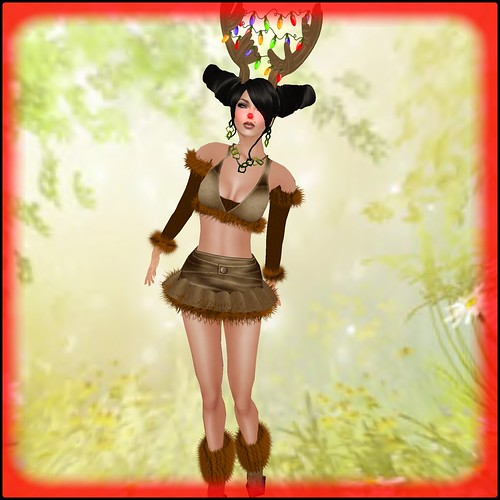 AvaGirl PROMO - Deerlicious (complete outfit non-mesh) by Orelana resident