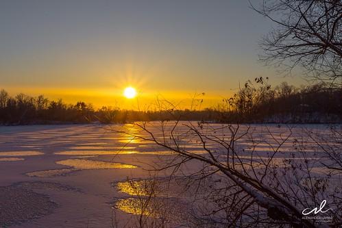 new winter sun white lake snow cold water minnesota sunrise canon photography photo cool view sunny lamar l mn 1740mm 6d alexanderlamar