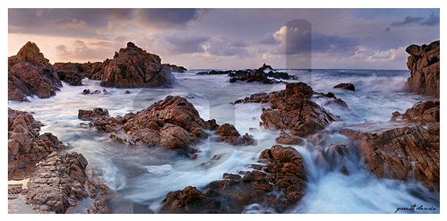 uk travel viaje sunset sea england seascape beach water clouds canon landscape island coast waterfall rocks waves fort scenic rocky panoramic nd 5d coastline swell hdr guernsey channelislands rugged castel seas vazon houmet hommet catel forthoumet channelislandsuk