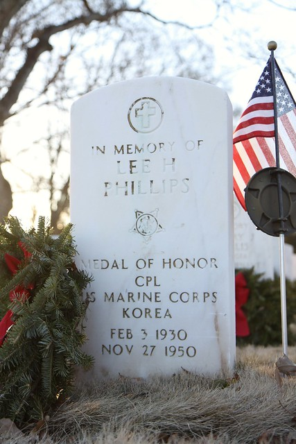 Corporal Lee Phillips, US Marine Corps