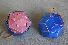 rubik's cube(0.0), toy(0.0), art(1.0), origami(1.0), origami paper(1.0), mechanical puzzle(1.0),