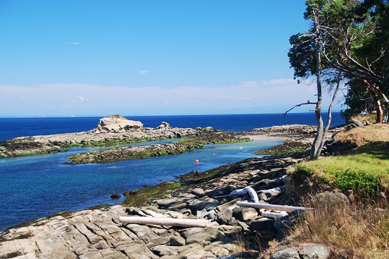 Georgina Point Heritage Park, Mayne Island, Southern Gulf Islands, British Columbia