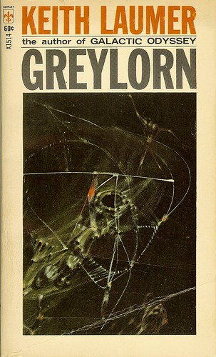 Greylorn - Keith Laumer - cover artist Richard Powers