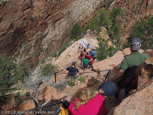 Of course some hikes (like Angel's Landing) just aren't easy to train for…!