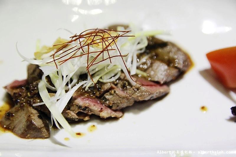 台北大同.若獅子和食:菲力牛佐芥子醬