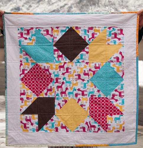 Horse Baby Quilt