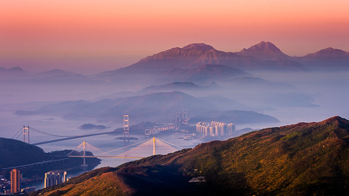 sunrise dawn god lantau tsingmabridge tsingyi taimoshan lantaupeak sunsetpeak