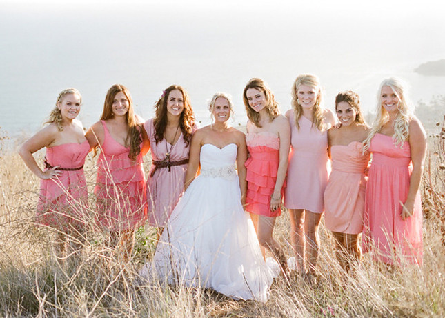 mismatched-bridesmaid-dresses-1