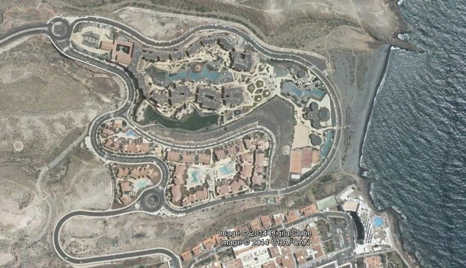 después, urbanismo, foto aérea,desastre, urbanístico, planeamiento, urbano, construcción,Oasis del Sur, Tenerife, Santa Cruz de Tenerife