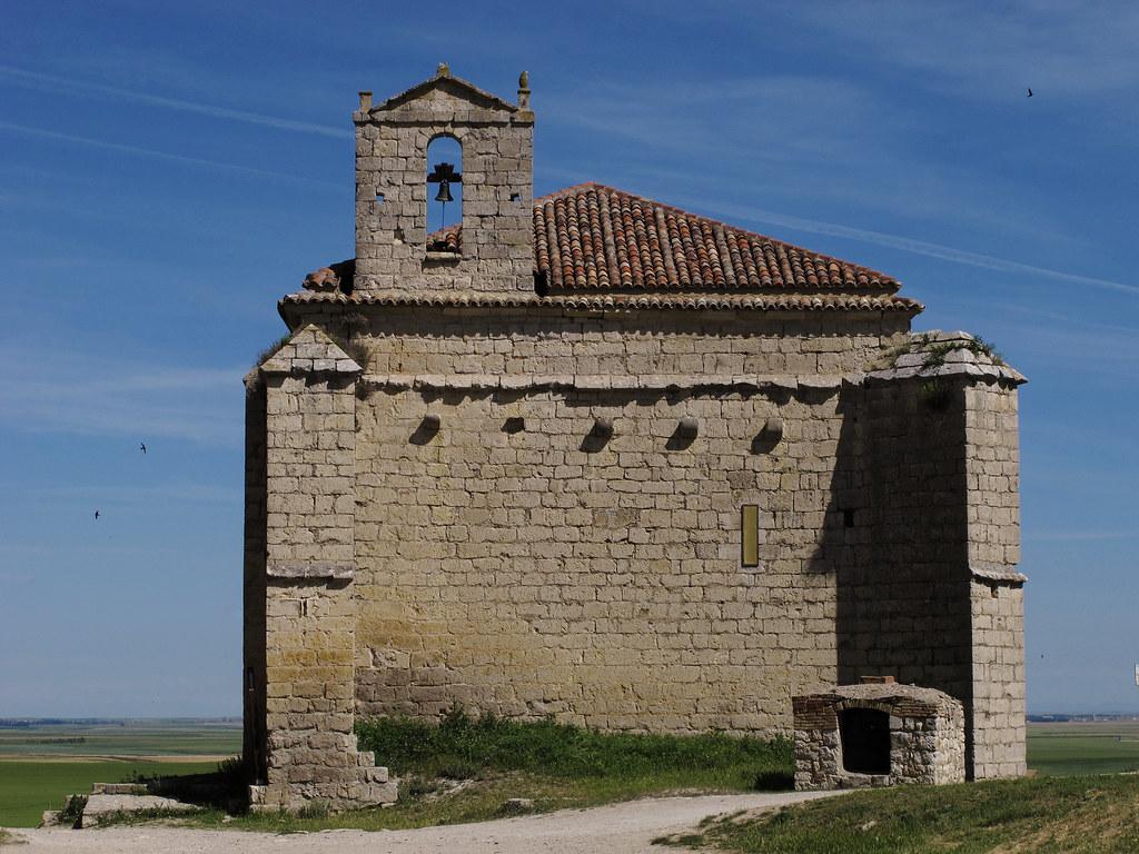 Ermita del Apóstol Santiago en Ampudia. Fuente