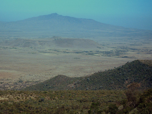 mountain volcano kenya riftvalley