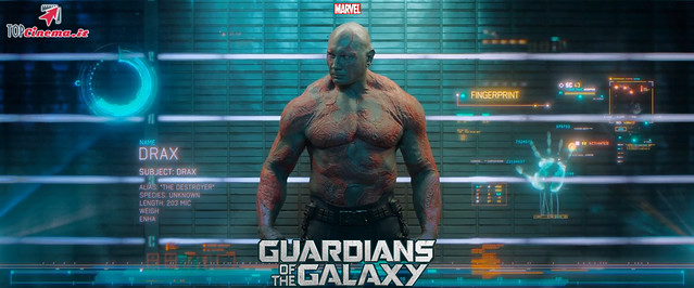 David Bautista in Drax il Distruttore | Guardians Of The Galaxy