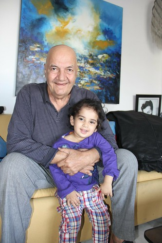 Mr Prem Chopra With The Youngest Street Photographer Of Bandra by firoze shakir photographerno1