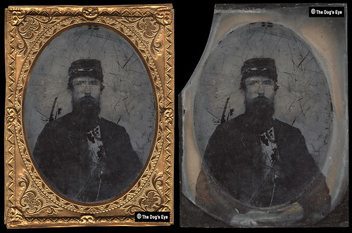 Civil War – Union Soldier: Ambrotype c.1863