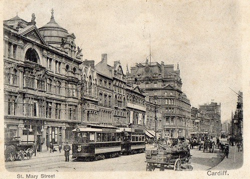 1900 south end St Mary Street, Cardiff
