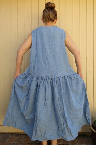 Denim Sundress - Before