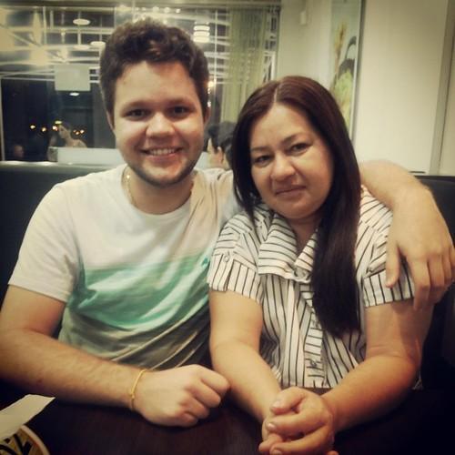 Tava pra morrer de saudade :/ #mãe #amorquenãosemede #mantandooquenosmata