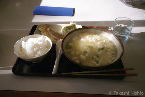 ゆし豆腐定食 / Tofu-soup set meal