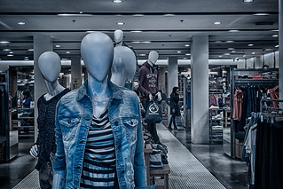 Shopping in an alien world