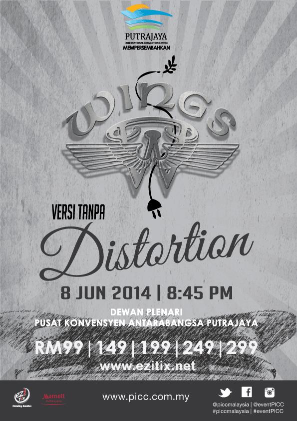 Konsert Wings Versi Tanpa Distortion di Putrajaya