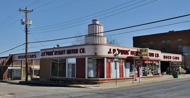 vintage auto dealerships and service stations flickr photo sharing. Black Bedroom Furniture Sets. Home Design Ideas