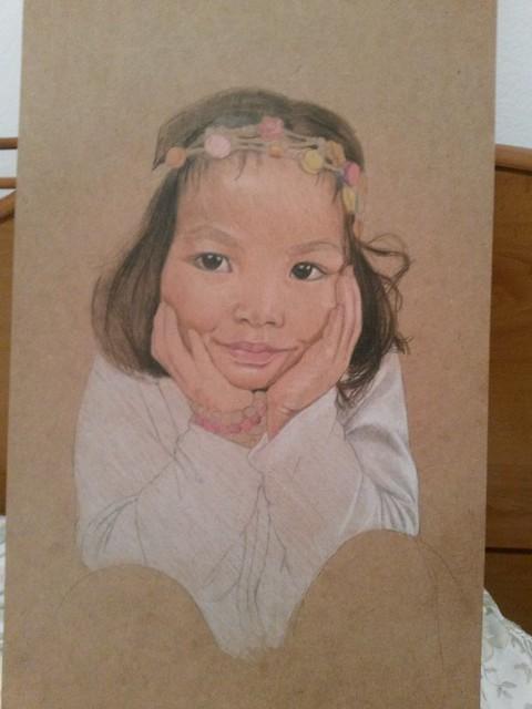 Andrea's portrait