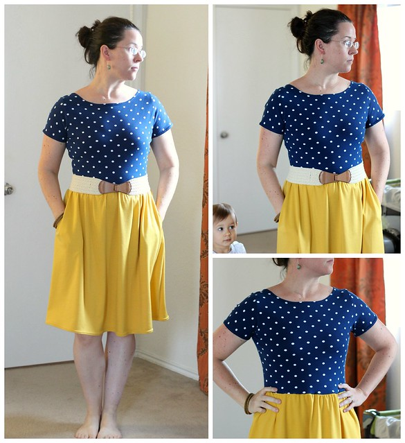 may 7 moneta knit dress collage #mmmay14
