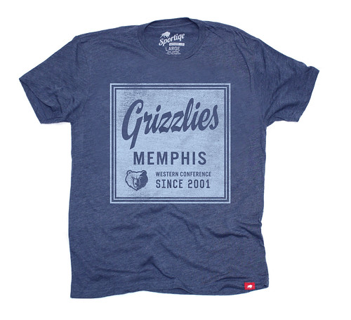 Memphis Grizzlies Graphic T Shirt - Sportiqe Apparel