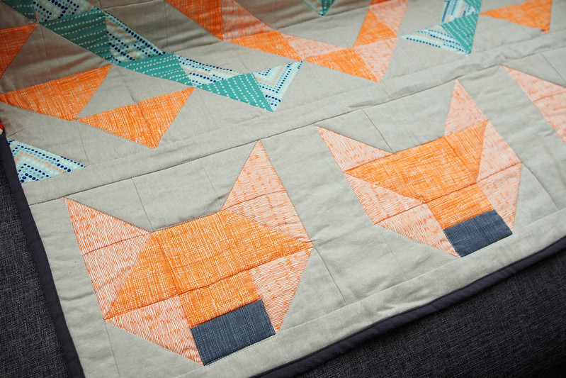 Foxes Quilt Amp My Sister S Flat What Katie Does