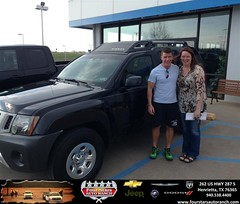 Congratulations to Annie Santine on your #Nissan #Xterra purchase from Dewayne Aylor at Four Stars Auto Ranch! #NewCar