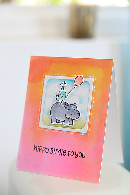 Hippo Birdie to You